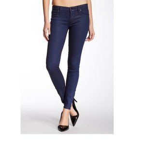 NEW Blank NYC Jeans 25 Blue Spray On Super Skinny
